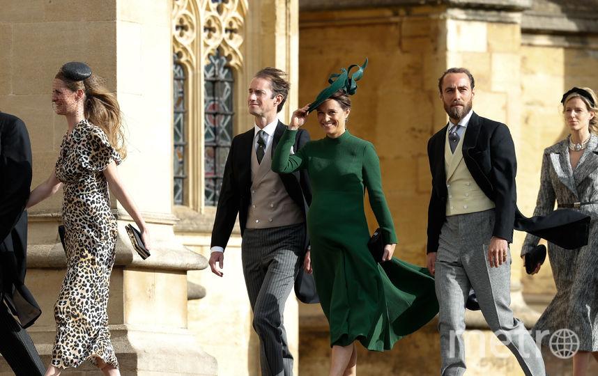 Свадьба принцессы Евгении и Джека Бруксбэнка. Фото AFP