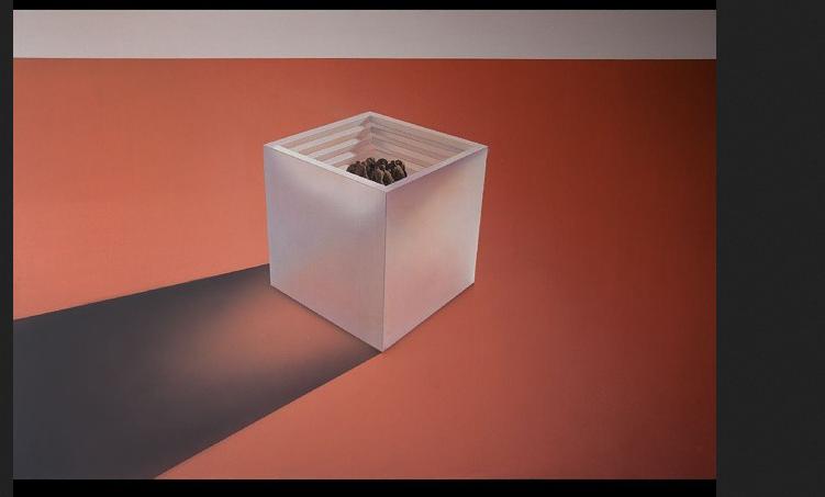 Мрачные картины Мехди выставляет в галереях. Фото Скриншот Instagram: @mehdighadyanloo