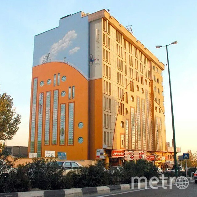 Тегеран. Фото Скриншот Instagram: @mehdighadyanloo