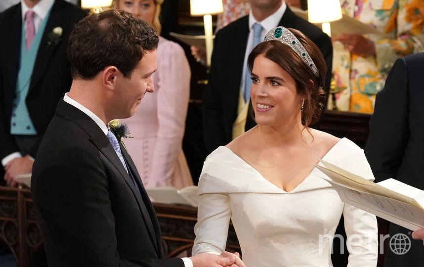 Свадьба принцессы Евгении и Джека Бруксбенка. Фото Getty