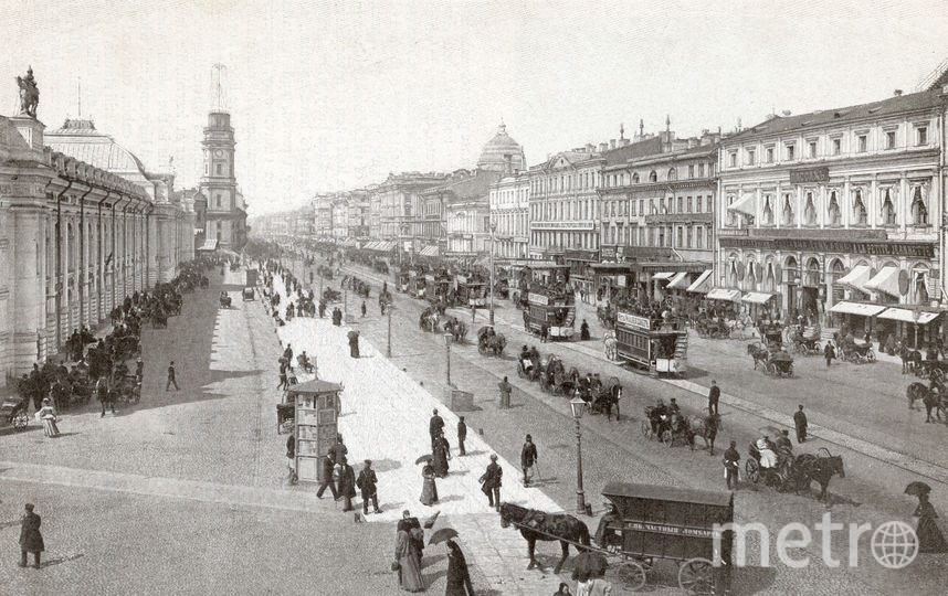 Невский проспект. Старые снимки. Фото Getty