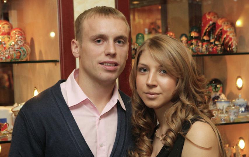 Дарья и Денис Глушаковы. Фото РИА Новости
