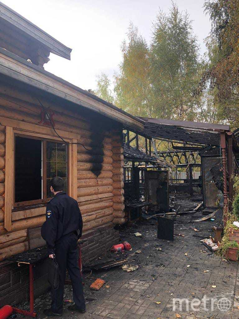 На востоке Москвы неизвестный поджёг храм и воскресную школу. Фото http://vostokvk.ru