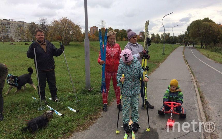 Муринский парк стал ареной непрекращающейся борьбы. Местные жители в очередной раз выступили против застройки зелёной зоны. Фото предоставлены активистами
