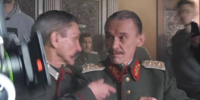 В роли немецкого генерала в сериале