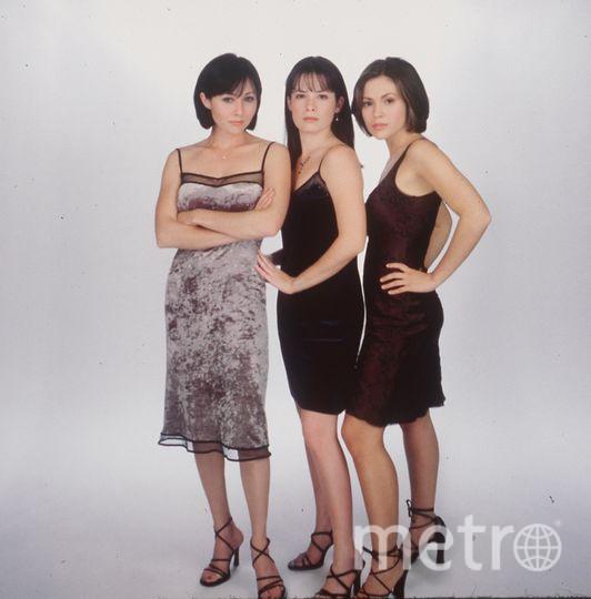 Шеннен Доэрти, Холли Мэри Комбс, Алисса Милано. Фото Getty