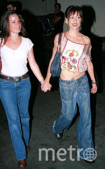 Холли Мэри Комбс, Алисса Милано. Фото Getty