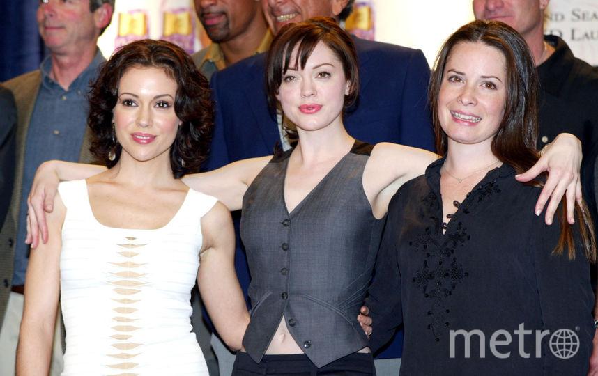 Холли Мэри Комбс, Роуз Макгоуэн, Алисса Милано. Фото Getty