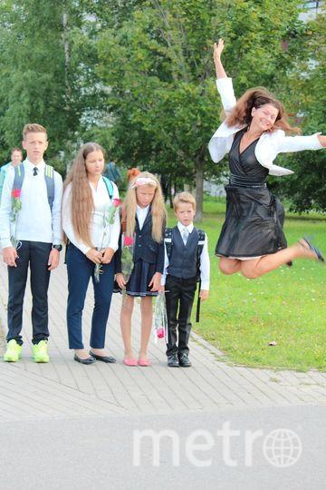 """В нашей семье 1 сентября больше всех ждет мама. Фото Елена Наторхина, """"Metro"""""""