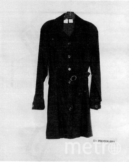 Моника Левински, платье со следами. Фото Getty