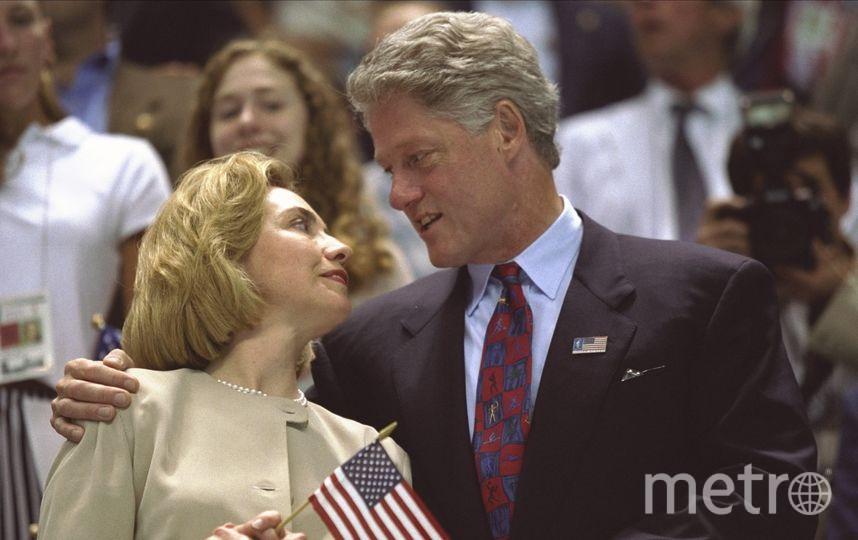 Билл и Хиллари Клинтон. Фото Getty
