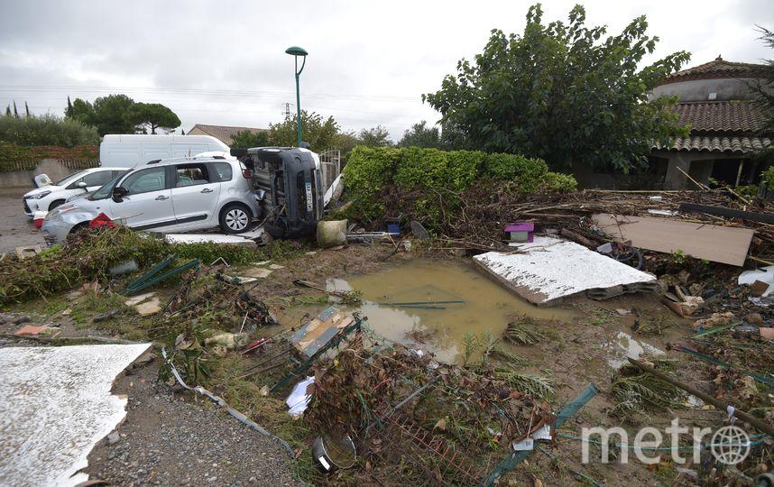 Сильнейший шторм пришёл на юго-запад Франции. Фото AFP