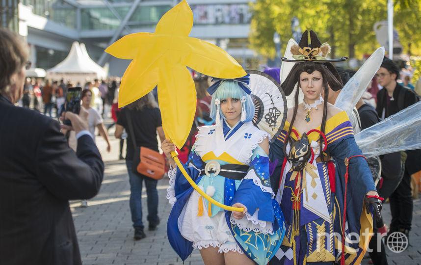 Косплееры на книжной ярмарке во Франкфурте. Фото Getty