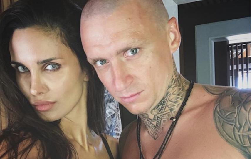 Павел Мамаев с женой Аланой. Фото instagram.com/alana_mamaeva