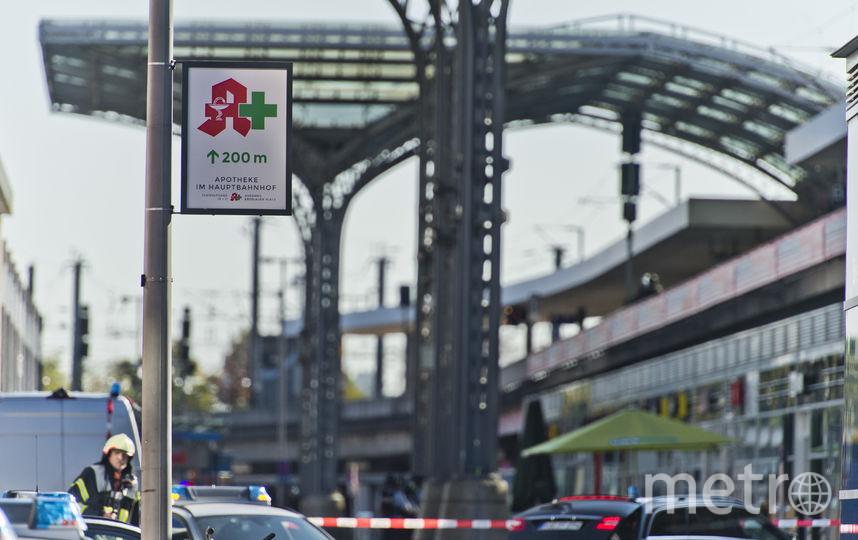 В Кёльне на вокзале захвачен заложник. Фото Getty