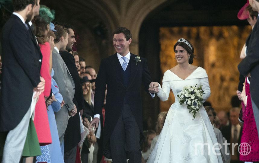 Свадьба принцессы Евгении и Джека Бруксбэнка. Фото Getty