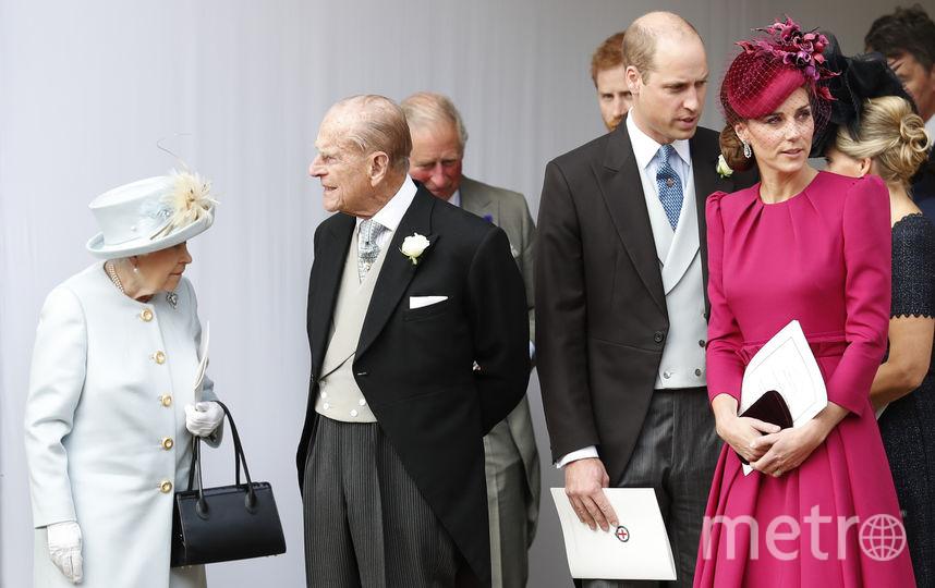 Кейт Миддлтон на свадьбе принцессы Евгении. Фото Getty