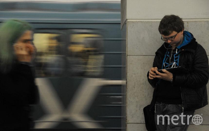 Движение в Московском метро вновь стабильно. Фото РИА Новости
