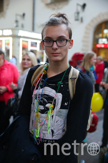Григорий Полумордвинов 15 лет, школа 329. Фото Василий Кузьмичёнок