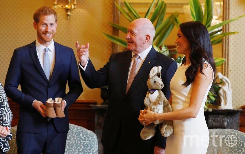 Лицо принца Гарри выражало детский восторг. Фото Getty