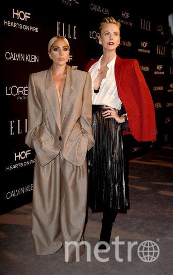 ELLE Women-2018. Леди Гага и Шарлиз Терон. Фото Getty