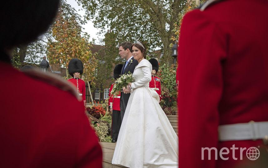 Принцесса Евгения и Джек Бруксбэнк. Фото AFP