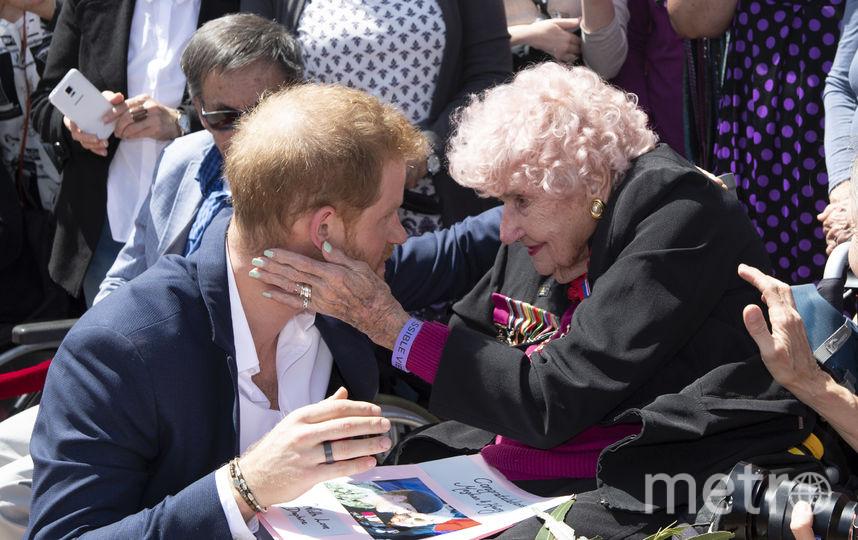 Принц Гарри и Дафна Данн. Фото Getty