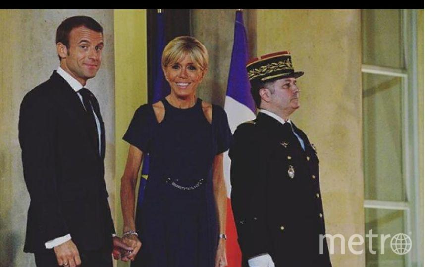 Брижит Макрон на приеме во Франции. Фото Instagram