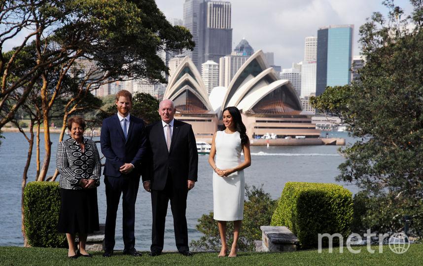 Во время визита в Австралию. Фото Getty