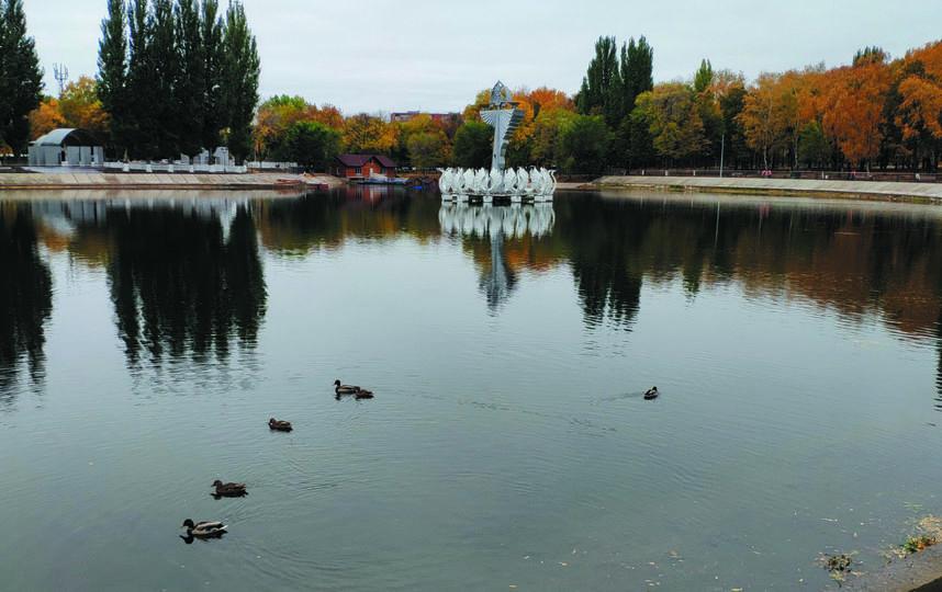 """Парк уже облюбовали утки. Фото Игорь Рудаков, """"Metro"""""""