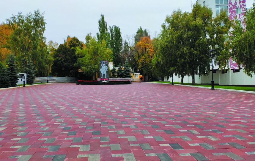 """Всю плитку в парке обновили. Фото Игорь Рудаков, """"Metro"""""""