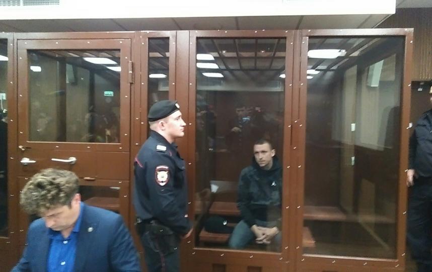 "Павел Мамаев в суде, фотоархив. Фото Дмитрий Роговицкий., ""Metro"""