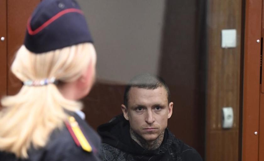 Павел Мамаев в суде. Фото РИА Новости