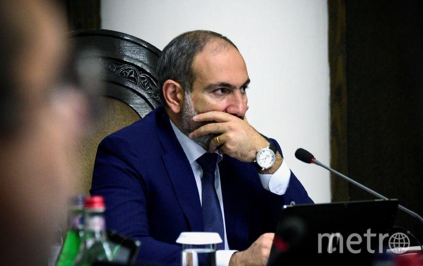 Никол Пашинян подал в отставку. Фото AFP