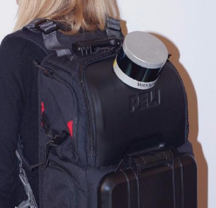 Рюкзак с лидаром. Фото Предоставлено организаторами