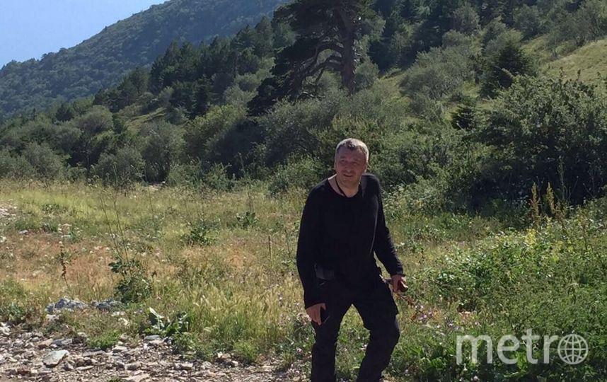 Игорь Албин также бывал на Афоне. Фото Соцсети Игоря Албина.