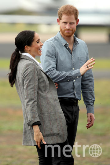 Принц Гарри и Меган Маркл в Австралии. День второй. Фото Getty
