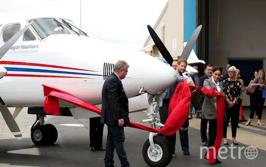 Принц Гарри и Меган Маркл в Австралии. На празднике в честь 90-летия службы спасения. Фото Getty