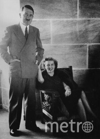 Адольф Гитлер с женой Евой Браун. Фото Getty