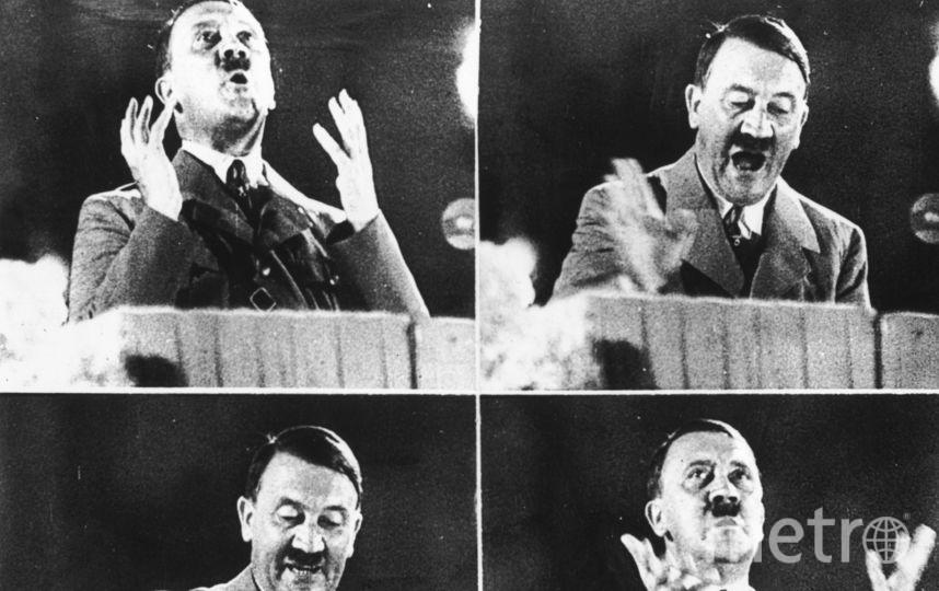 Выступление Адольфа Гитлера. Фото Getty