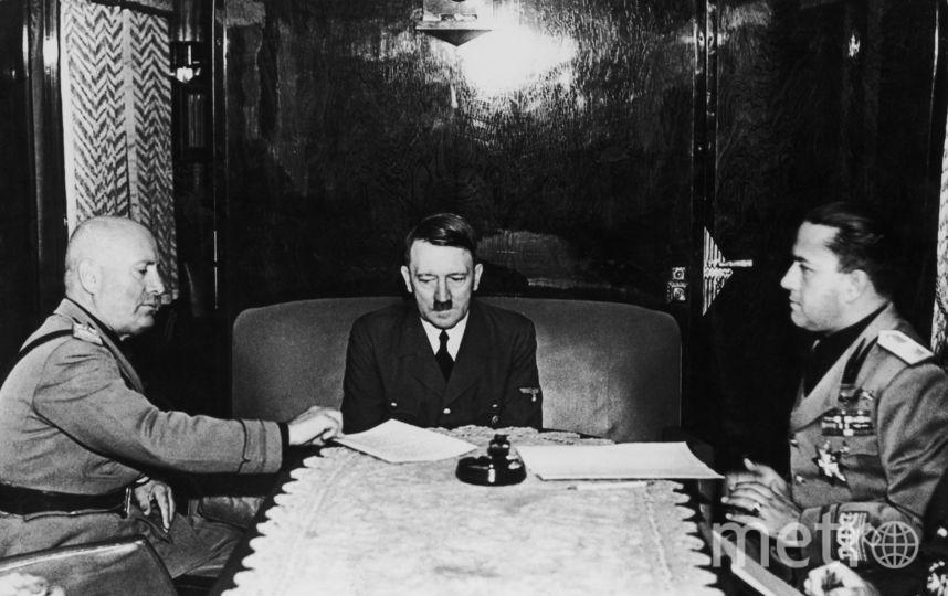 Бенито Муссолини, Адольф Гитлер,Галеаццо Чиано. Фото Getty