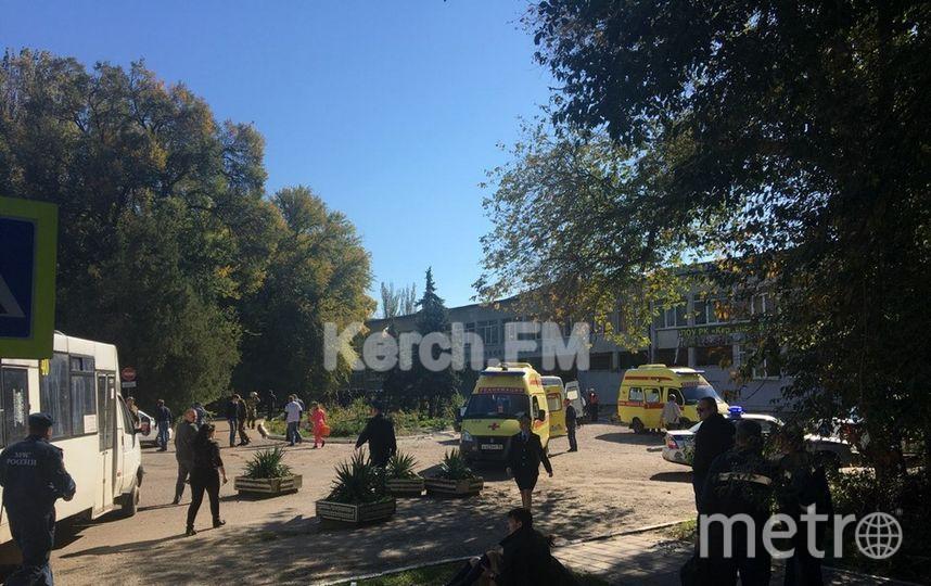 Фото с места событий. Фото предоставлено Керчь ФМ