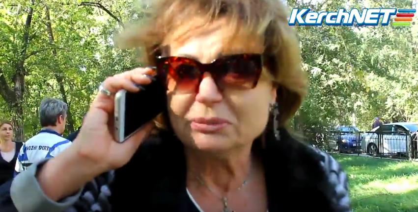 Трагедия в Керчи. Директор колледжа рассказала о произошедшем. Фото скриншот Youtube