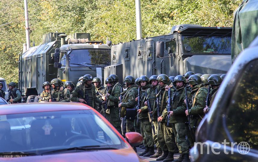 В результате теракта в политехническом колледже Керчи погибли 18 человек. Фото AFP