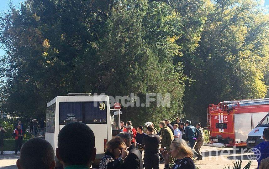 Трагедия в Керчи. Фото КерчьИНФО