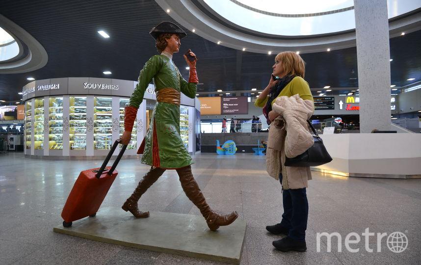 Пока большинство петербуржцев голосуют за то, чтобы аэропорт Пулково носил имя Петра Великого. Фото Интерпресс