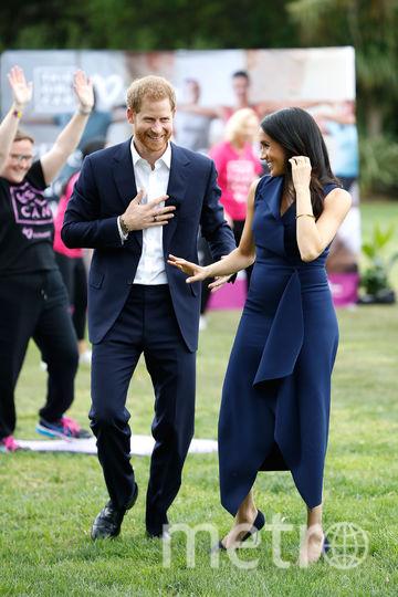 Принц Гарри и Меган Маркл в Мельбурне. Фото Getty