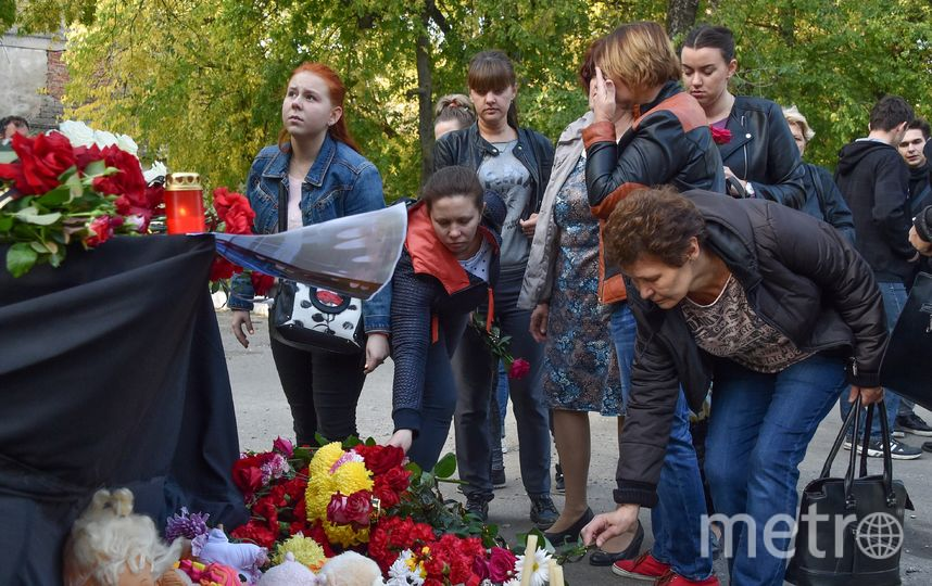 Жертвами трагедии в Керчи стали 20 человек. Фото AFP