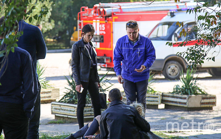 Трагедия в Керчи. Фото AFP