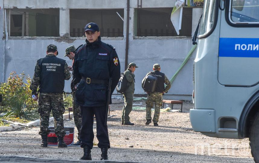 Трагедияв Керчи. Фото AFP